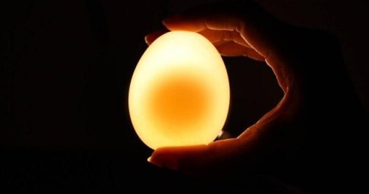 светящееся резиновое яйцо