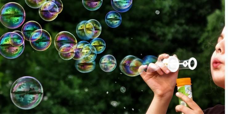 Мыльные пузыри нелопающиеся своими руками