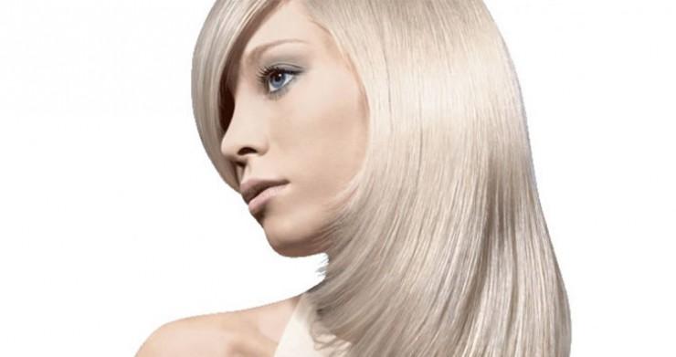 химическое осветление волос