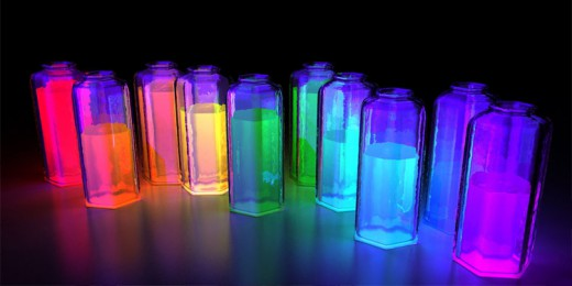светящаяся жидкость