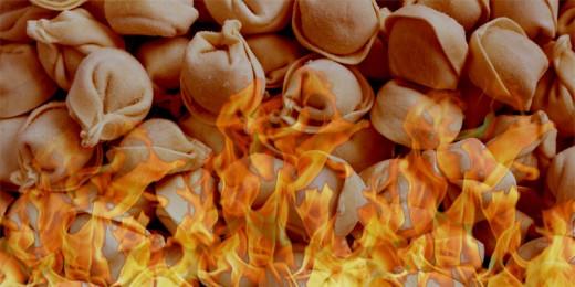 огненный пельмень