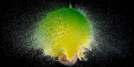 Взрывающийся воздушный шар