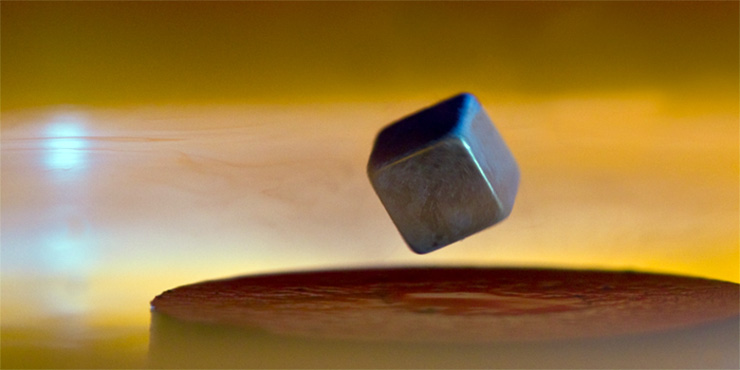 superconductivity Electrical resistance in metals arises because electrons propagating through the solid are scattered due to deviations from perfect translational symmetry.