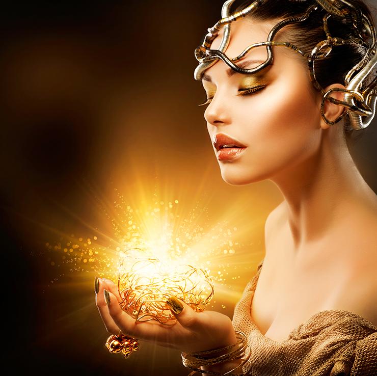 Девушка в золоте картинки фото
