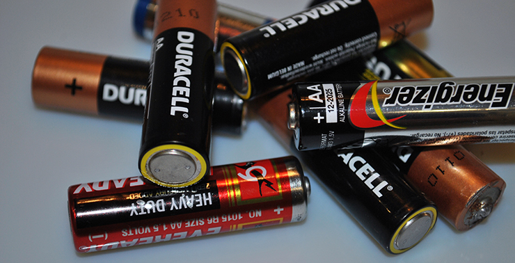 химический ток батарейки