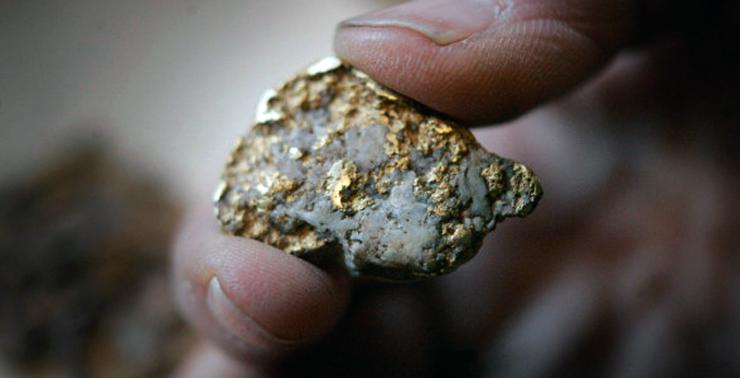 Выщелачивание золота из руды в домашних условиях