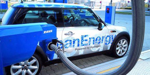 водородный двигатель в автомобиле