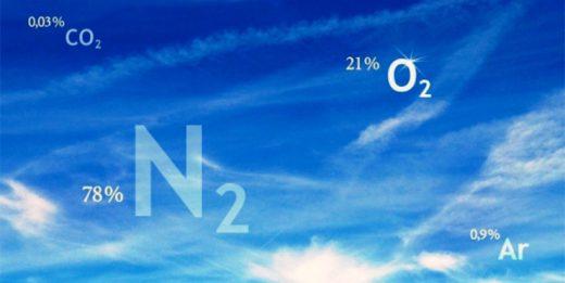 азот воздуха