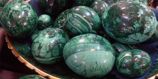 малахитовое яйцо