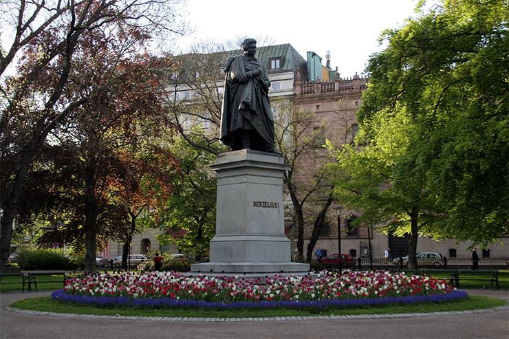 Памятник Берцелиусу