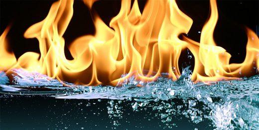 горящая вода