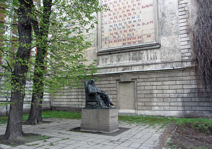 Таблица Менделеева в Санкт-Петербурге