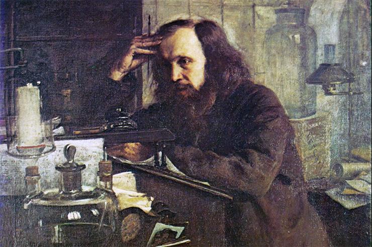 портрет Менделеева