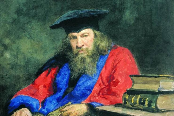 Репин портрет Менделеева